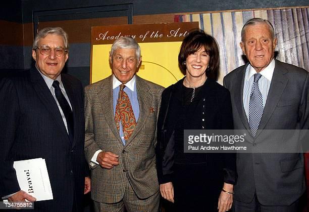 Ed Bleier Don Hewitt Nora Ephron and Ben Bradlee