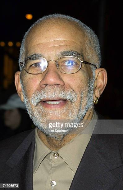 Ed Bradley at the Paris Theatre in New York City New York