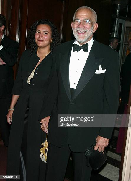 Ed Bradley Patricia Blanchet during 54th Annual Directors Guild Of America Honors at WaldorfAstoria in New York New York United States