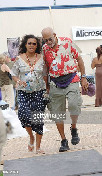 Ed Bradley with wife Patricia Blanchet **EXCLUSIVE**