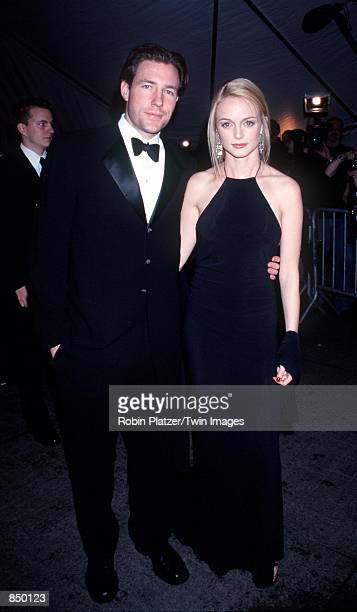 Ed Burns and Heather Graham at the Metropolitan Museum of Art for the Costume Institute Gala in New York NY December 6 1999