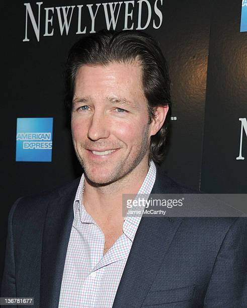 Ed Burns attends the premiere of Newlyweds at the Crosby Street Hotel on January 11 2012 in New York City