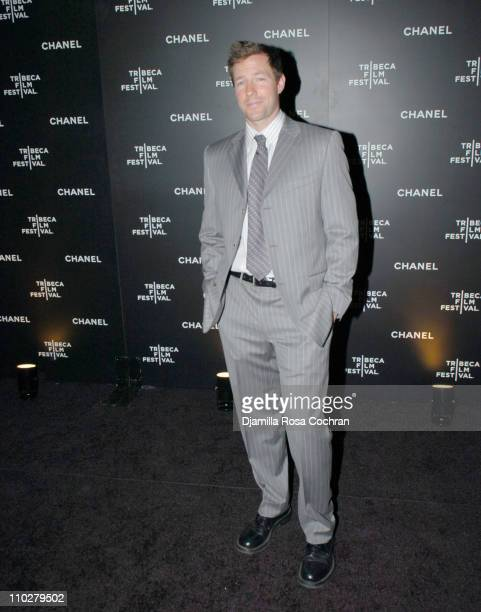 Ed Burns during 5th Annual Tribeca Film Festival Chanel Dinner at Opening of Mr Chow Celebrating Artists of the Tribeca Film Festival at Mr Chow in...