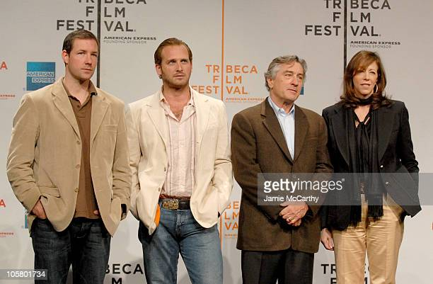 Ed Burns Josh Lucas Robert De Niro and Jane Rosenthal