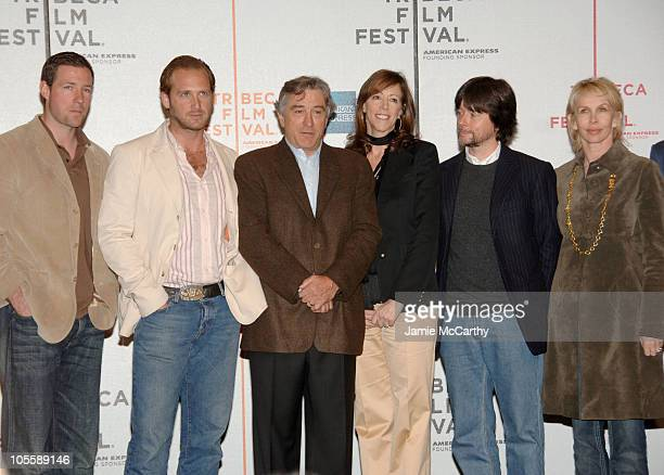 Ed Burns Josh Lucas Robert De Niro Jane Rosenthal Ken Burns and Trudie Styler
