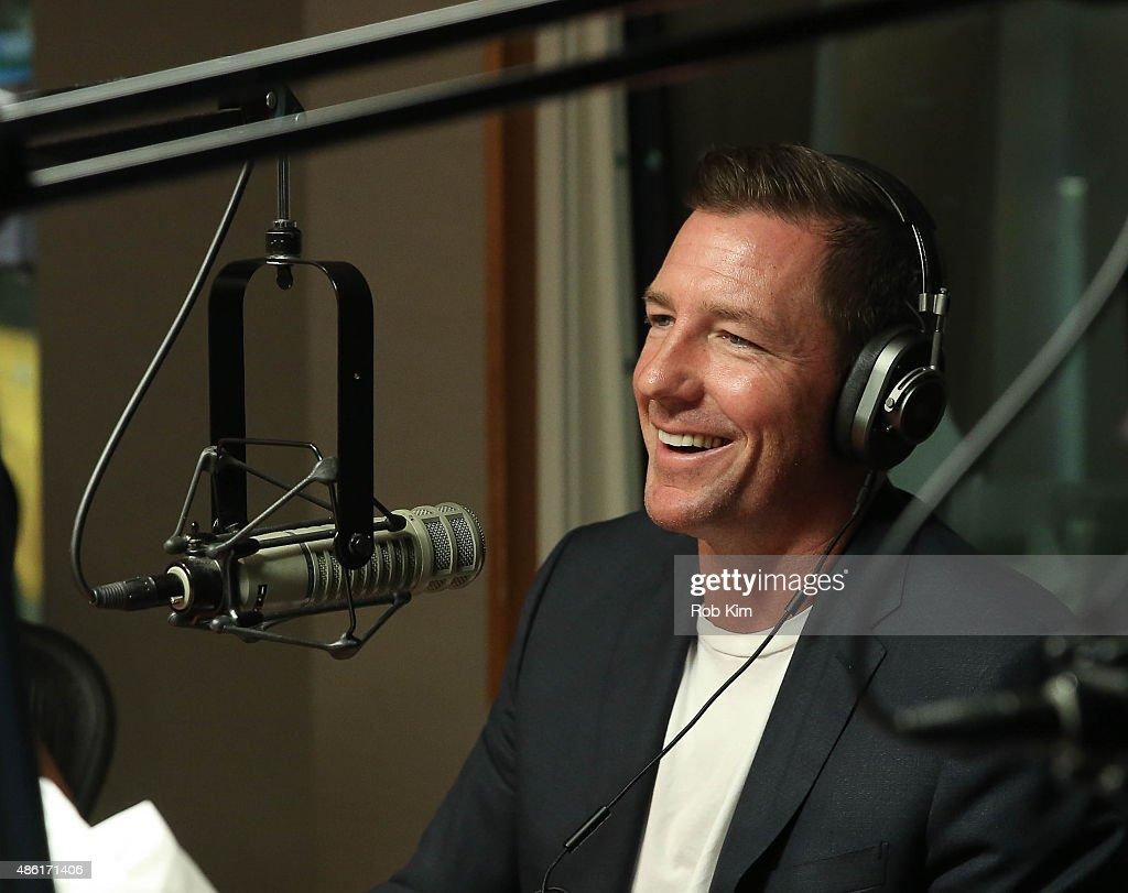 Celebrities Visit SiriusXM Studios - September 1, 2015 : News Photo