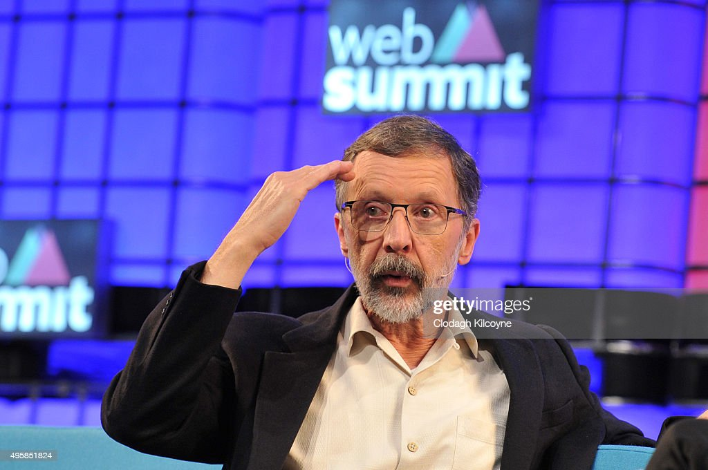 Ed Catmull, founder of Pixar speaks on stage during the third day of the 2015 Web Summit on November 5, 2015 in Dublin, Ireland. The Web Summit is now in it's 4th year and is technology's most global gathering. In numbers, it has 42,000 attendees from 134 countries, 1,000 speakers, 2,100 startups and 1,200 media.