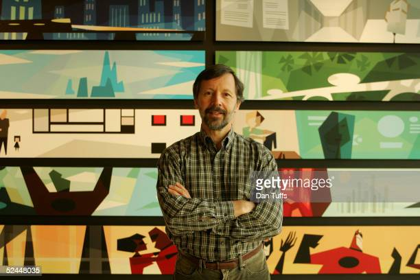 Ed Catmull President of Pixar at their office in Emeryville in Calafornia 4th Nov 2004