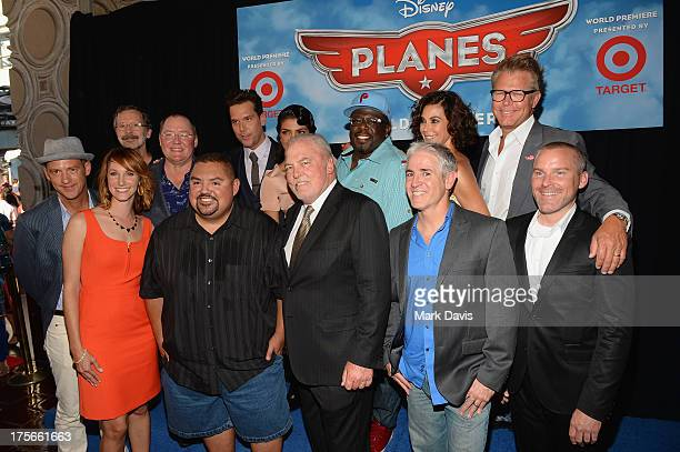 Ed Catmull President of Walt Disney Animation Studios and Pixar Animation Studios executive producer John Lasseter actors Dane Cook Priyanka Chopra...