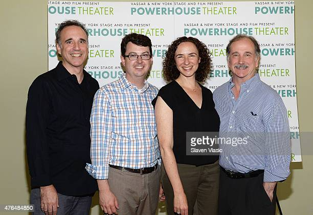 Ed Cheetham Thomas Pearson Johanna Pfaelzer and Mark LinnBaker attend the New York Stage and Film Vassar's 31st Powerhouse Theater Season Meet and...