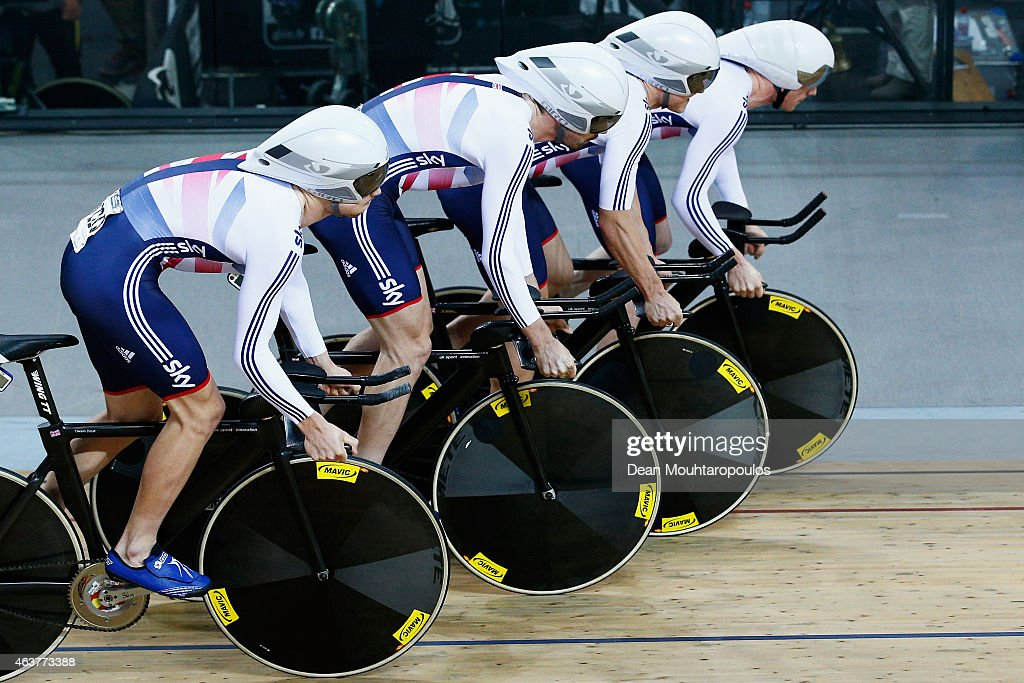 UCI Track Cycling World Championships - Day One : News Photo