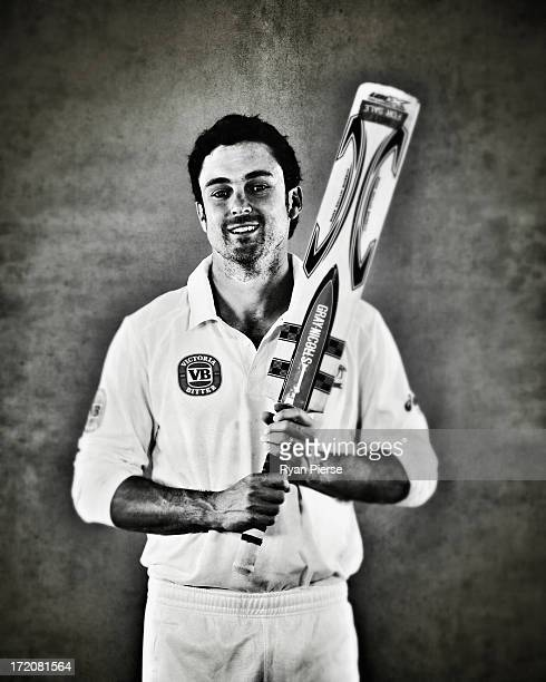 Ed Cowan of Australia poses on July 1 2013 in Worcester England
