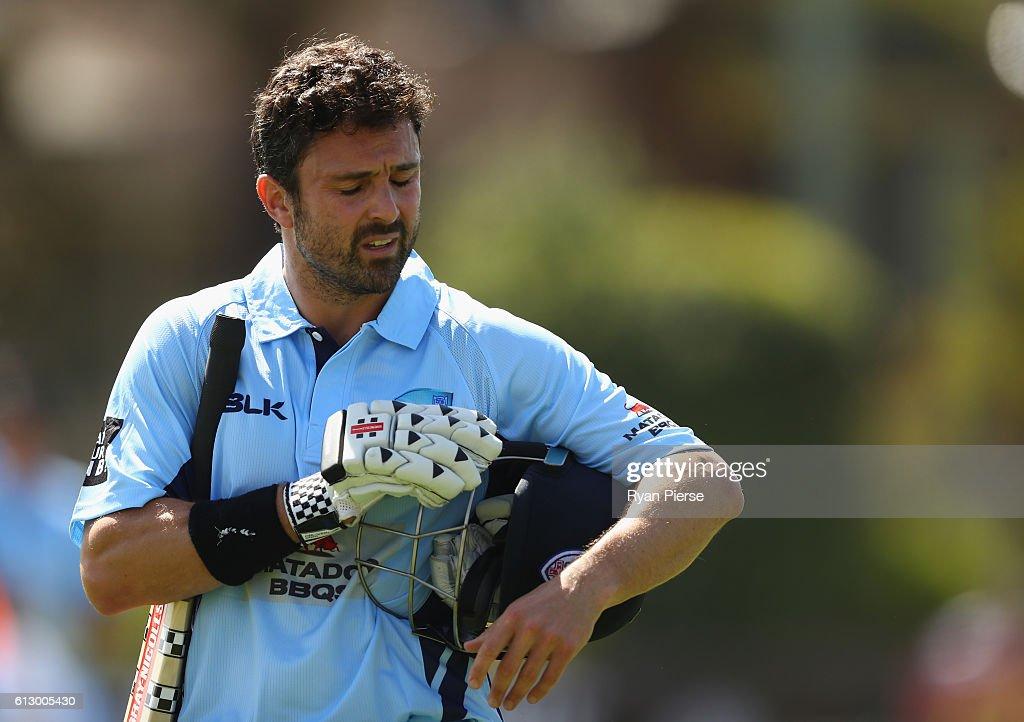 Matador BBQs One Day Cup - NSW v CA XI