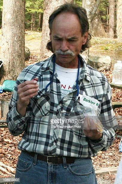 Ed Furtaw during the Barkley Marathon on March 30 2007 at the Frozen Head Lake State Park in Caryville TN