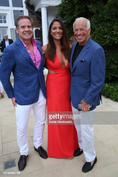 Lynn Scotti Gary De Persia attend an Intimate Evening Under the Stars with Michael Bolton on August 18 2018 in Water Mill New York