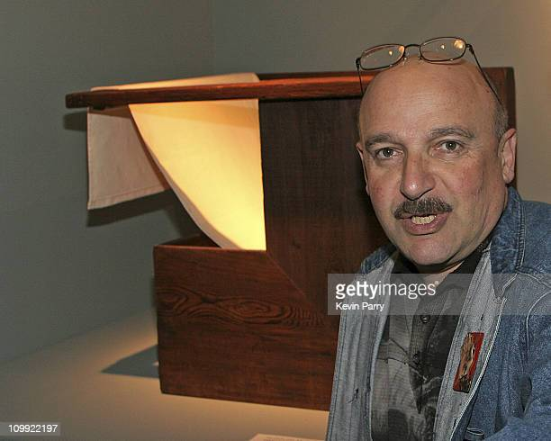 Ed Goldman during 11th Annual Los Angeles Antiques Show Designer/Architect/Press Preview at Barker Hangar in Santa Monica California United States