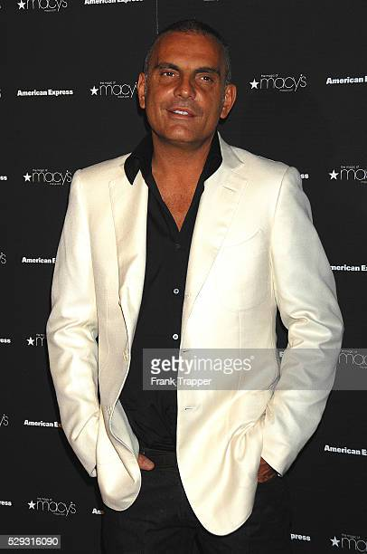 Ed Hardy designer Christian Audigier arrives at Macy's Passport Gala 2008 to raise crucial funds and awareness for HIV/AIDS organizations held at...
