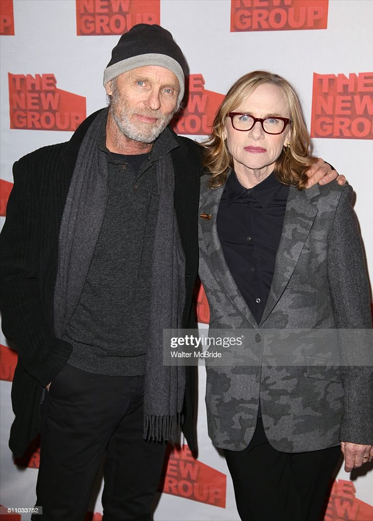 Ed Harris and Amy Madigan attend The New Group's Official Opening Night Party for Sam Shepard's 'Buried Child' at Kitchn on February 17, 2016 in New York City.