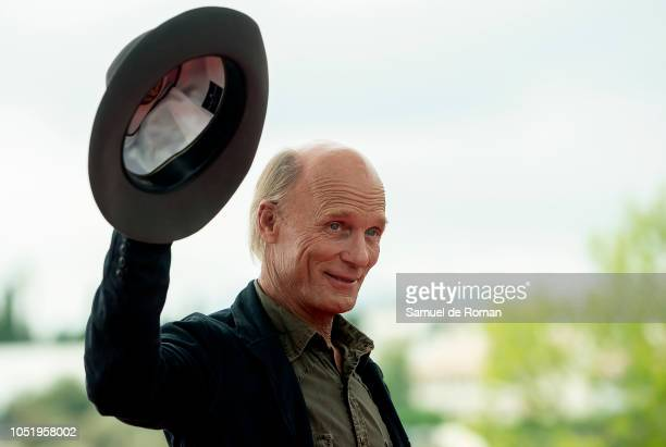 Ed Harris attends during photocall at Sitges film Festival on October 12 2018 in Sitges Spain