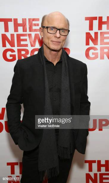 Ed Harris attends The New Group presents the New York Premiere Opening Night of David Rabe's for Good for Otto on March 8 2018 at the Green Fig Urban...