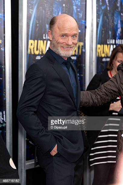 Ed Harris attends the Run All Night New York Premiere at AMC Lincoln Square Theater on March 9 2015 in New York City