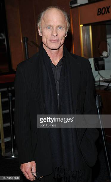 Ed Harris attends the UK premiere of 'The Way Back' at The Curzon Mayfair on December 8 2010 in London England