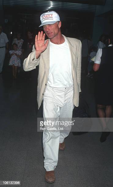 Ed Harris during Ed Harris Sighted at Los Angeles International Airport August 6 1996 at Los Angeles International Airport in Los Angeles California...