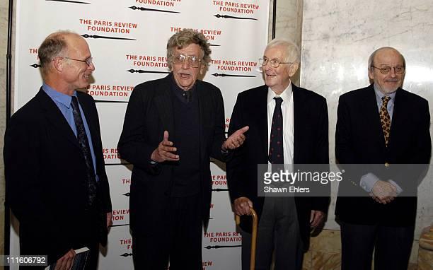 Ed Harris, Kurt Vonnegut, William Styron and E.L. Doctorow
