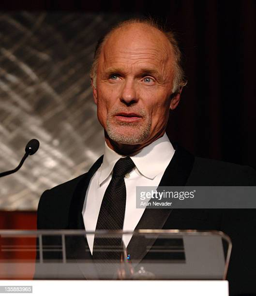 Ed Harris receives the Peter J Owens Award during 49th San Francisco International Film Festival Awards Night Presentations at Westin St Francis in...