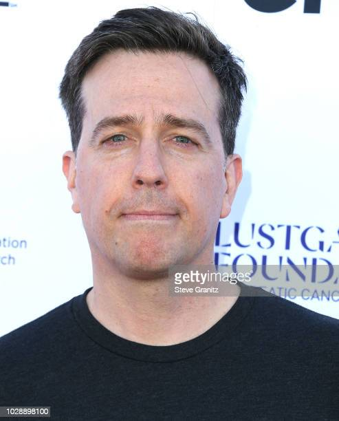 Ed Helms arrives at the Stand Up To Cancer Marks 10 Years Of Impact In Cancer Research At Biennial Telecast at Barker Hangar on September 7 2018 in...