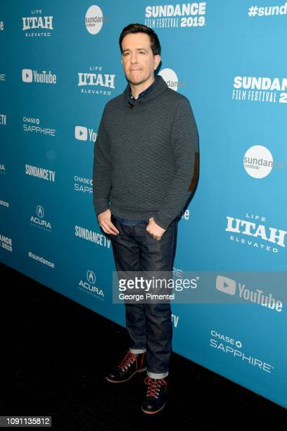 Ed Helms attends the Corporate Animals Premiere during the 2019 Sundance Film Festival at Eccles Center Theatre on January 29 2019 in Park City Utah