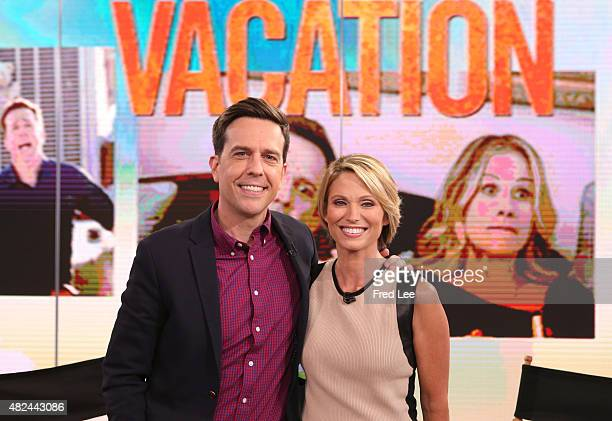"""Ed Helms is a guest on """"Good Morning America,"""" 7/29/15, airing on the Walt Disney Television via Getty Images Television Network."""