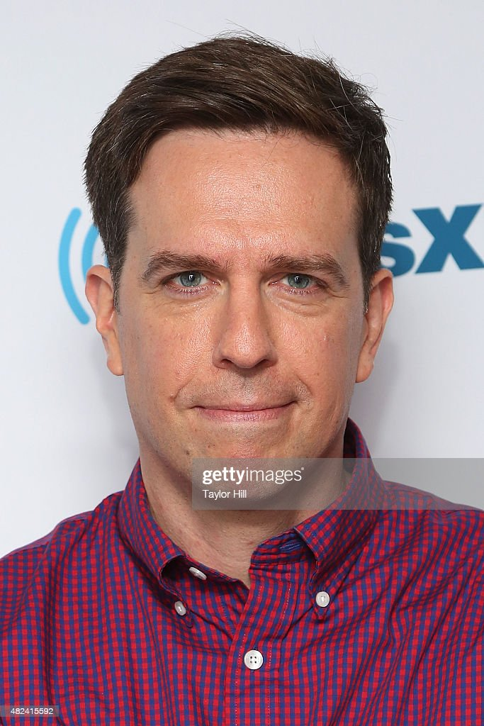 Ed Helms visits the SiriusXM Studios on July 30, 2015 in New York City.
