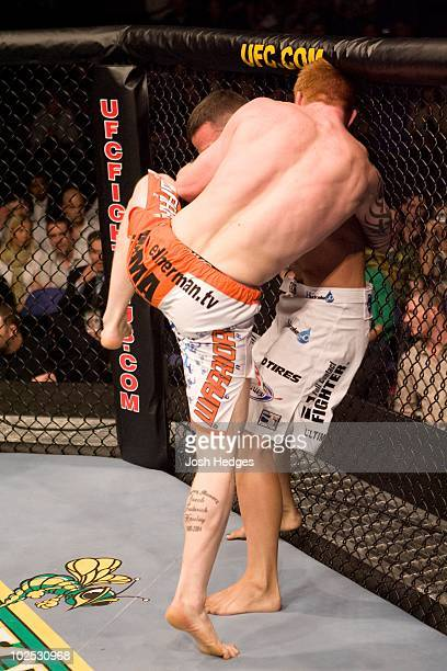 Ed Herman def Scott Smith Submission 225 round 2 during UFC 72 at Odyssey Arena on June 16 2007 in Belfast Northern Ireland