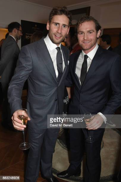 Ed Holcroft and Mark Stanley attend as LOUIS XIII and Dylan Jones GQ Editor in Chief cohost Intimate Dinner Celebrating the brand's '100 Years'...