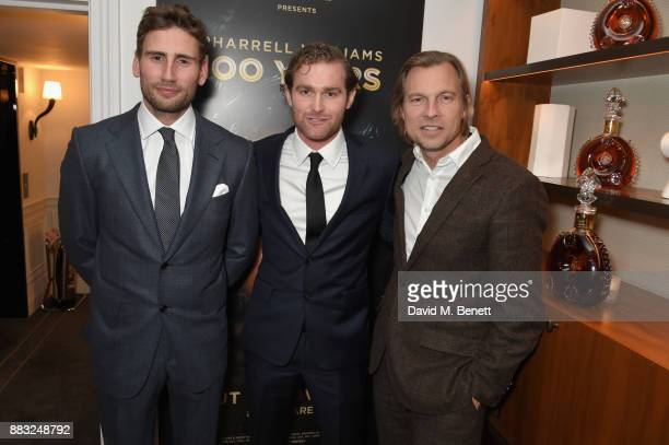 Ed Holcroft Mark Stanley and Ludovic du Plessis attend as LOUIS XIII and Dylan Jones GQ Editor in Chief cohost Intimate Dinner Celebrating the...