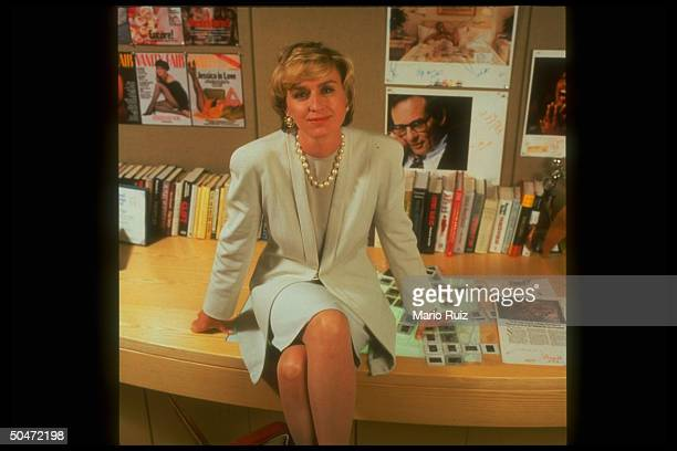 FAIR ed in chief Tina Brown in office