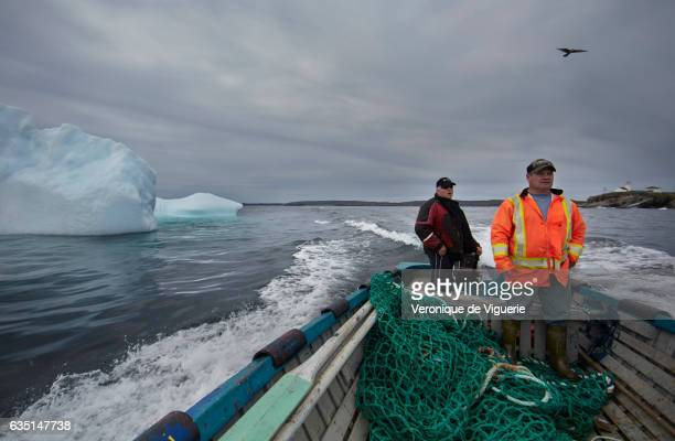 Ed Kean and Philip Kennedy are looking for an iceberg in Bonavista Bay As more icebergs drift south due to climate change a few enterprising...