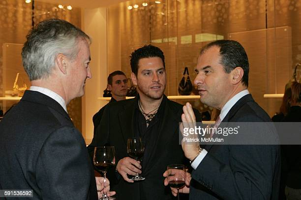 """Ed Kelly, Scott Conant and Massimo Ferragamo attend """"Savor the Holiday Season in Italian Style"""" An Exclusive Tasting of Select Wines From the II..."""