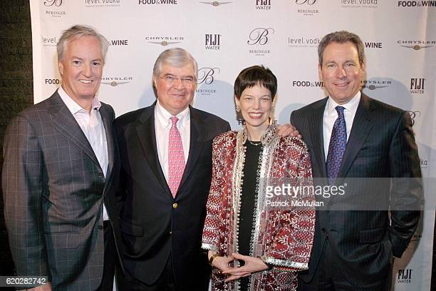 Ed Kelly Tom Ryder Dana Cowin and John Hayes attend FOOD WINE MAGAZINE Celebrates 20th Anniversary of Best New Chefs at espace on April 3 2008 in New...