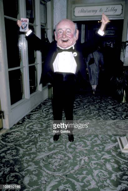 Ed Koch during Mayor Koch Book Party at Tavern on the Green in New York City New York United States