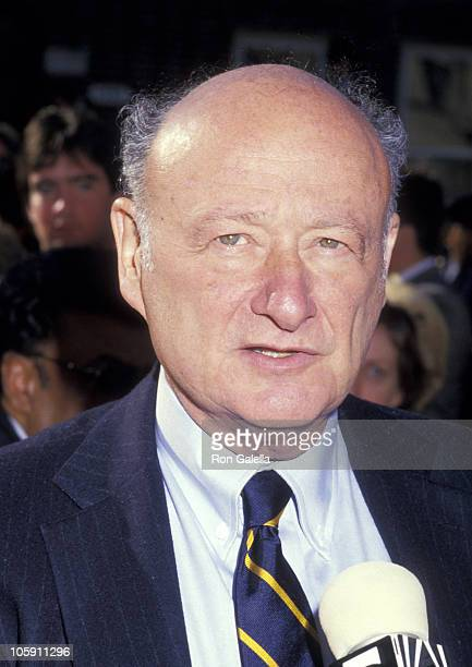 Ed Koch during Merola Funeral Service October 31 1987 at St Barnabas Church in Yonkers New York United States