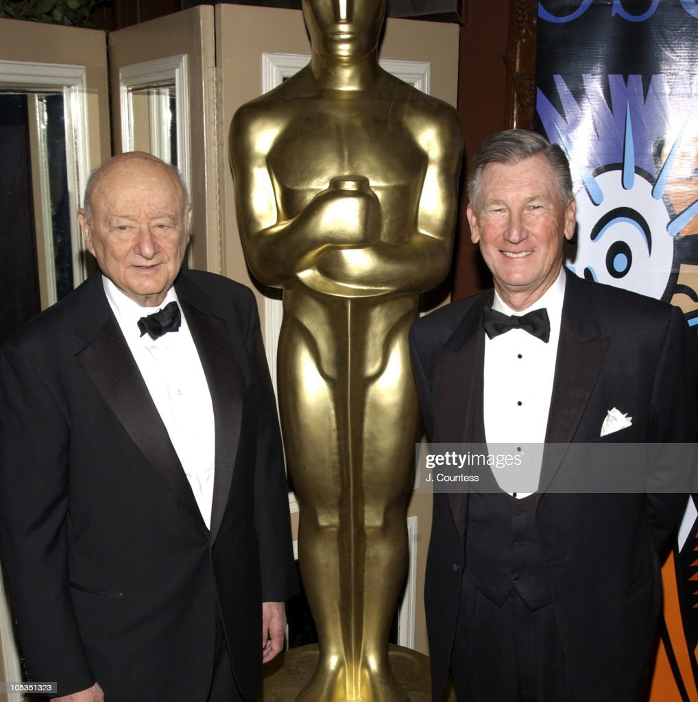 Ed Koch, Former Mayor of New York and Robert Rehme, President of the Academy of Motion Picture Arts & Sciences