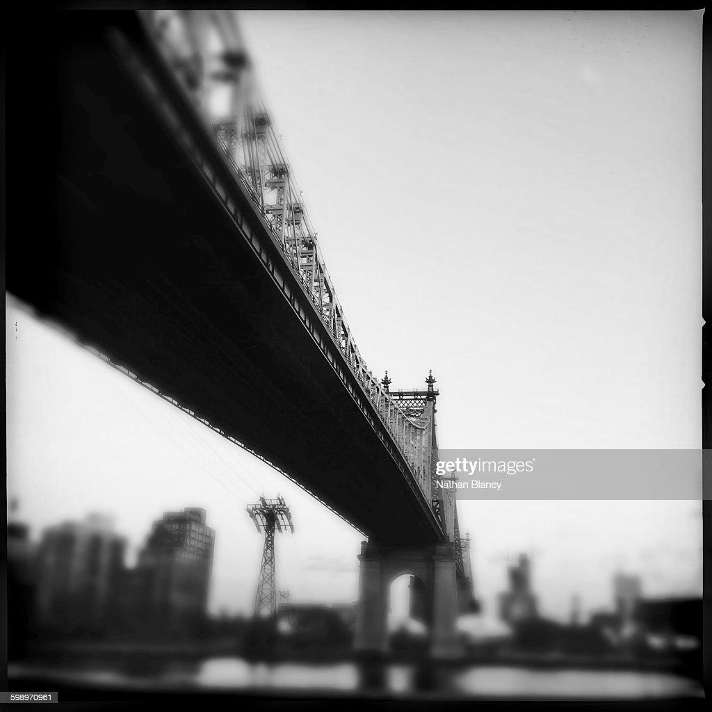 Ed Koch Queensboro Bridge : Stock Photo