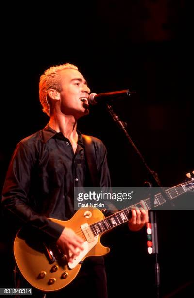 Ed Kowalczyk of American alternative rock band Live performs at the World Music Theater in Tinley Park Illinois August 7 1997