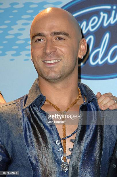 Ed Kowalczyk of Live during 'American Idol' Season 5 Finale Press Room at Kodak Theater in Hollywood California United States