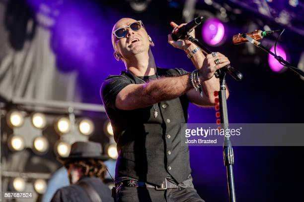 Ed Kowalczyk of the band Live performs during the 2017 Voodoo Music Arts Experience at City Park on October 28 2017 in New Orleans Louisiana