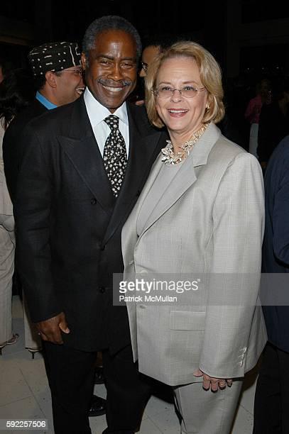 Ed Lewis and Ann Moore attend Essence celebrates its 35th Anniversary at Time Warner Center on September 12 2005 in New York City