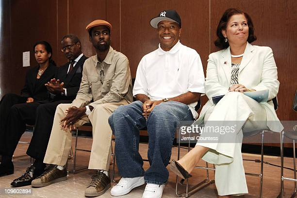 Ed Lewis Chairman and Founder of Essence Communications Chris Rock Russell Simmons and Debra Lee President and CEO of BET