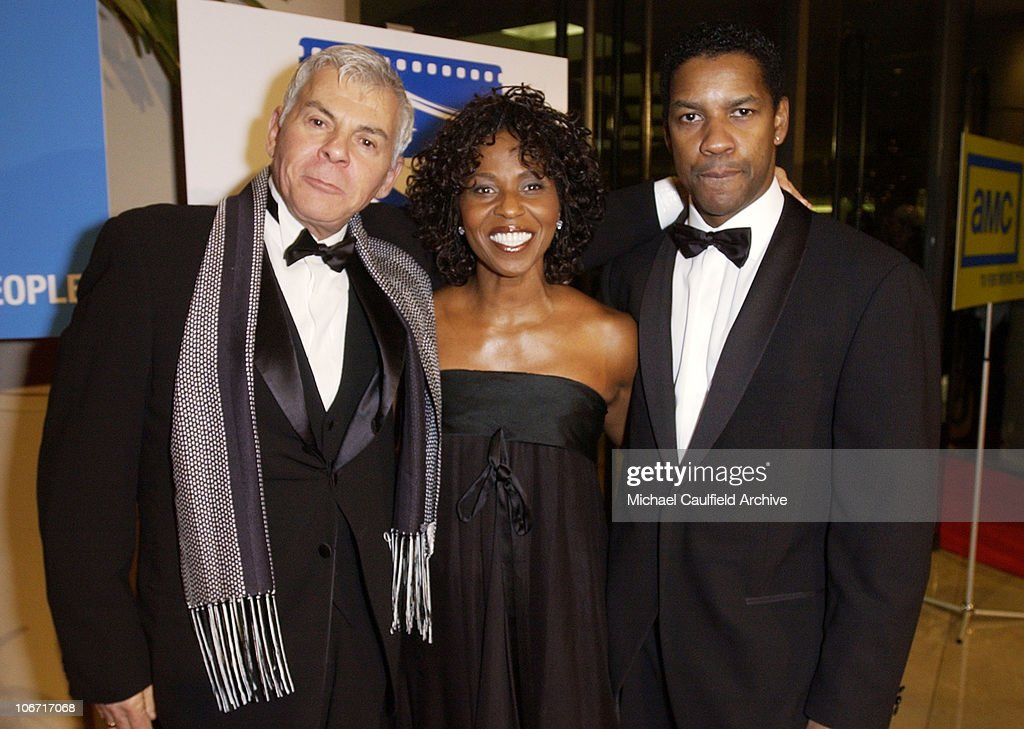 Ed Limato, Denzel Washington and wife Pauletta during The 17th Annual American Cinematheque Award Honoring Denzel Washington at Beverly Hilton Hotel in Beverly Hills, California, United States.